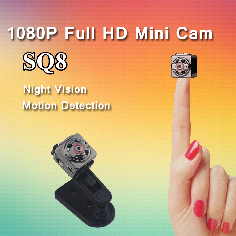 Galleria fotografica SQ11 Old Version SQ8 Mini Camera Full HD 1080P Micro Camera IR Night Vision DV Camera Motion Sensor DVR Camcorder Mini Cam