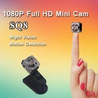 SQ8 Mini Camera Full HD 1080P Micro Camera IR Night Vision DV Camera Motion Sensor DVR