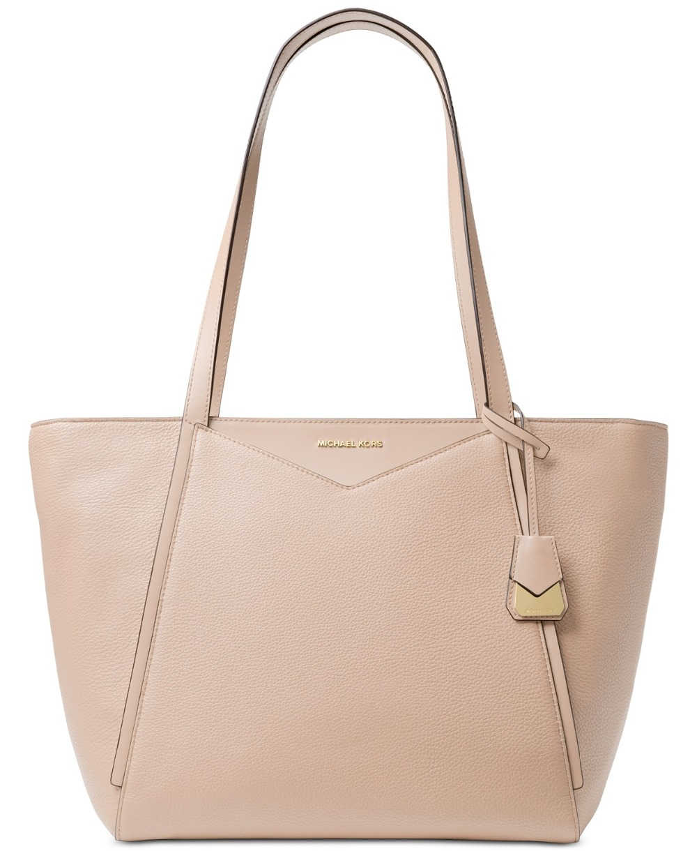 ... Michael Kors Whitney Large Soft Leather Tote Luxury Handbags For Women  Bags Designer by MK ...