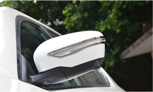 With Turn Lights Opneing Chrome Side Door Mirrors Rearview