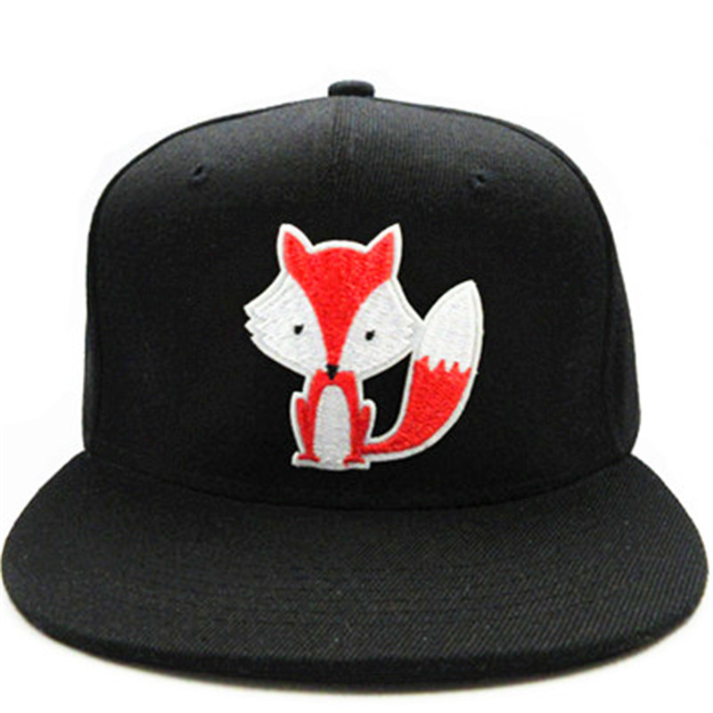 10bd091fed3 LDSLYJR 2018 Cartoon Fox embroidery cotton Baseball Cap hip hop cap  Adjustable Snapback Hats for kids and adult size 125-in Baseball Caps from  Apparel ...