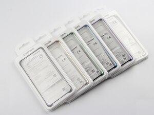 Image 5 - サムスンオリジナル電話カバー三星銀河S10 S10Plus S10 × S10E SM G9700 SM G9730 G9750 透明ハードシェル電話ケース