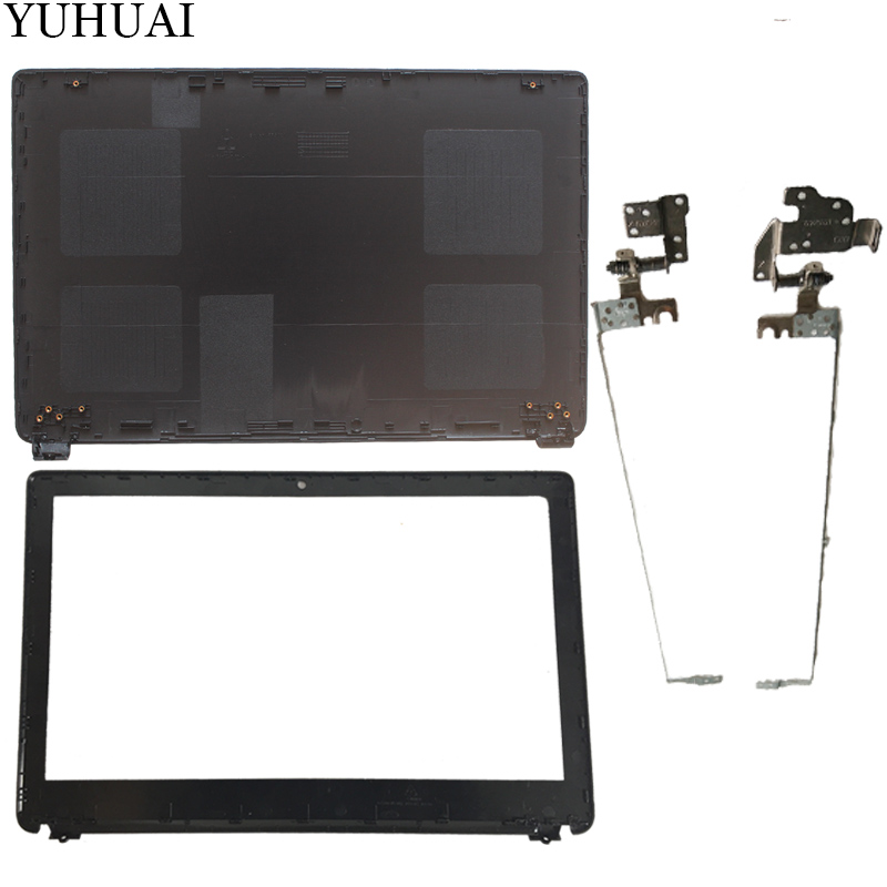 NEW For Acer Aspire E1-510 E1-530 E1-532 E1-570 E1-570G E1-532 E1-572G E1-572 LCD Top Cover Case/LCD Bezel Cover/LCD Hinges