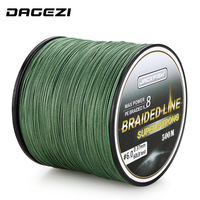 New 8 Stands 500M Smoother PE Braided Fishing Line 10 80LB Multifilament Fishing Line Carp Fishing