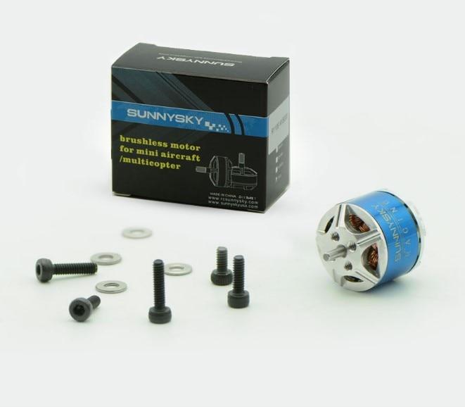 Sunnysky R1106 5500KV 6500KV 8000KV Brushless Motor Blue For 2030 3020 Propeller RC Multicopter Models Frame Part