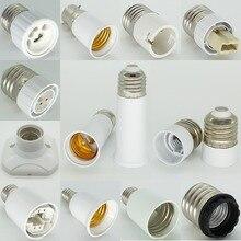 G4 патрон лампы E27 к E12 двойной E21/Fc2 к B22 G9 MR16 G13 G5.3 E17 к E40 G24 Патрон лампы База патрон адаптер конвертер