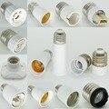 Suporte Da Lâmpada E27 para E14 GU10 B22 Dupla E27/E14 para G9 G13 E12 E17 MR16 G4 Soquete de Lâmpada Base de Suporte Da Lâmpada Conversor Adaptador