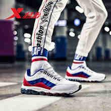 Мужские амортизирующие кроссовки xtep air mega для бега осень