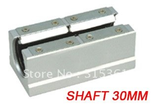 цена Free Shipping 5PCS/Lot SBR30LUU 30mm CNC Router Linear Ball Bearing Block With Platen в интернет-магазинах