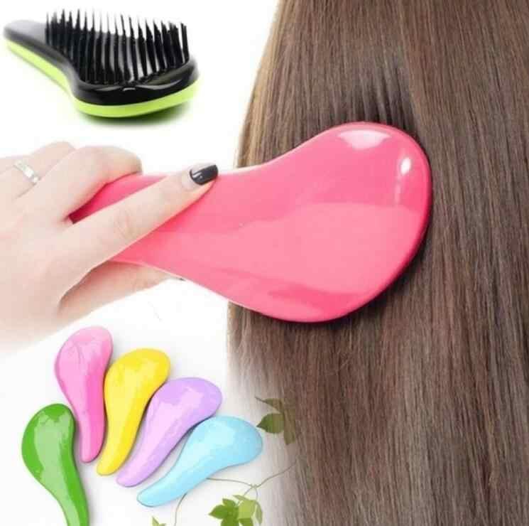 Яркие цвета 15 см расческа для волос Очаровательная расческа для массажа волос стайлинг красота Стайлинг, уход за волосами Расческа Душ-массажер щетка для расчесывания