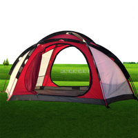 NEW 5 6 Person Camping large Beach Tent Fishing Hiking Rainproof UV proof Family Travel Big Tent For Outdoor 310*240*145cm