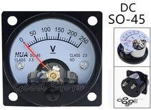 Panneau de tension monté sur vis, voltmètre 47x47mm, SO-45 cc 150V 250V 300V 450V 500V 750V
