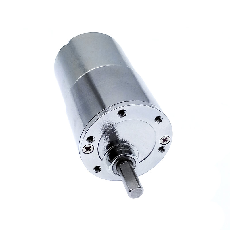 GB37RG 12VDC 2/5/10/15/20/30/40/60/87/100/120/50/200/300/400/500/550/600/1000RPM gear motor 37mm Eccentric Shaft Output image