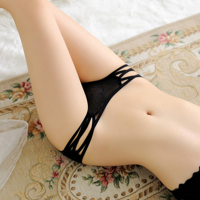 Hot Sale Transparent Panties Sexy Women Underwear Intimates Breathable Lingerie Fashion Girls Low Waist Briefs Underpants