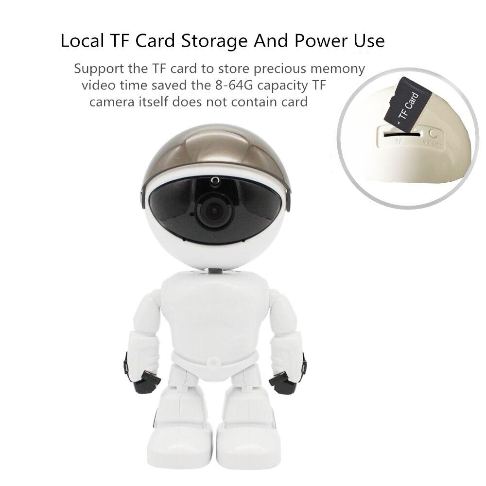 Robot WIFI Wireless IP Camera 11