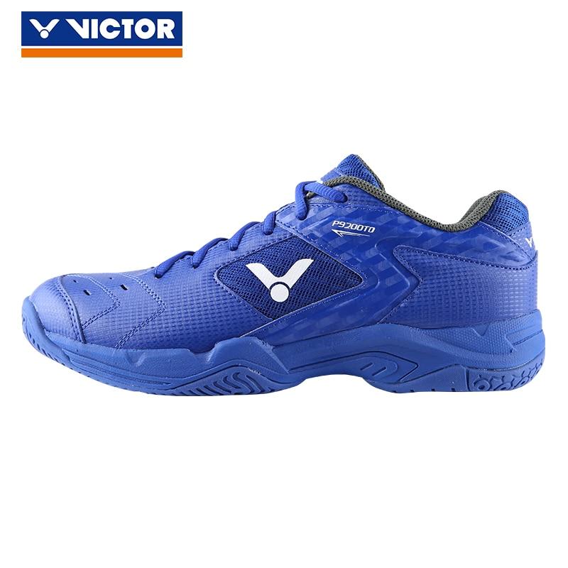 Original Victor Badminton Shoes Men High Elasticity Breathable Anti slip Sport Sneakers P9200td