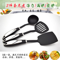 3 Piece Home Kitchen Sets Cooking Tools Nylon Spatula Spoon Utensils Cookware