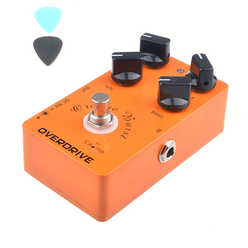 Caline CP 18 Overdrive Guitar Effect Pedal Orange ...