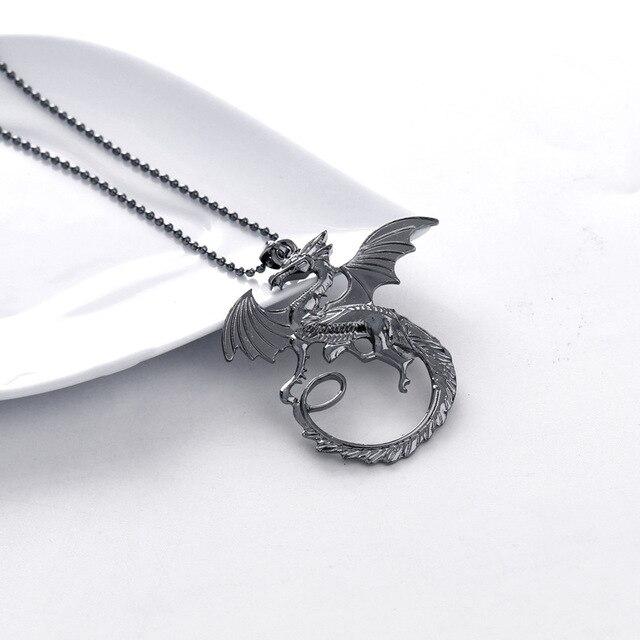 Daenerys Targaryen Dragon Pendant 3