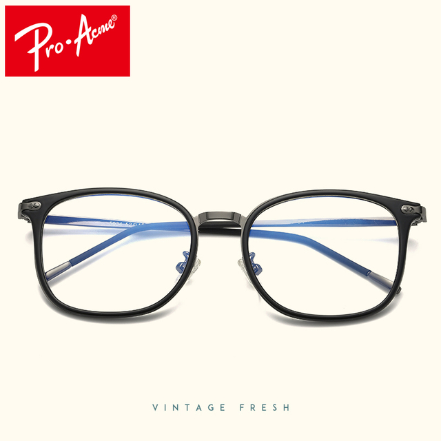 818a99dd5af Pro Acme Eyewear Optical Frames Eyeglasses Men Women Clear Lens TR90  Titanium Legs Ultralight Prescription