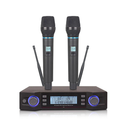MU-59 Portable UHF IR Wireless microphone System for interviwe  Mikrofon Long Working XLR Microphone Meeting