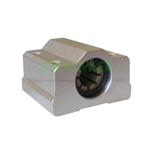 Image 3 - 7pcs Polymer SC8UU & Bracket 8mm Linear Rail Double Igus Drylin RJ4JP 01 08 for Anet/Tronxy/Reprap Prusa i3 3D printer