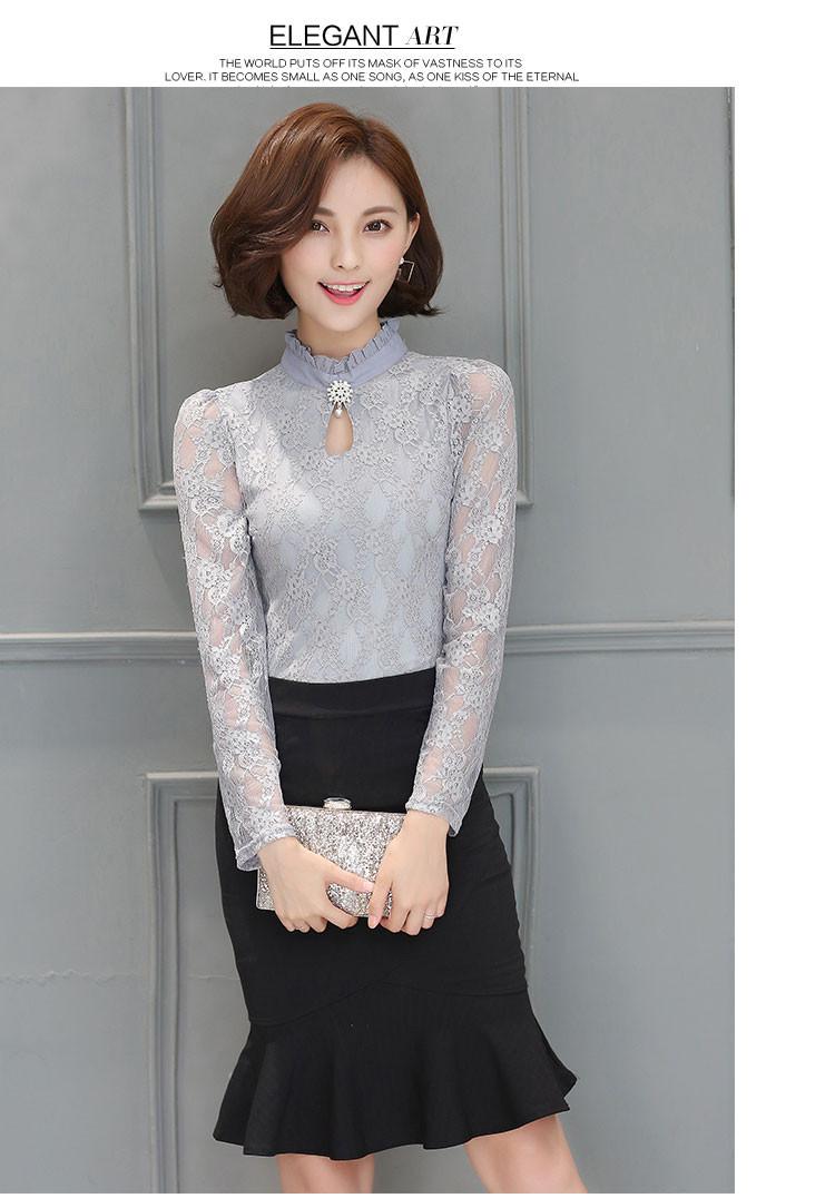 HTB16gdPOpXXXXcKaXXXq6xXFXXXz - Tops Chemise Femme Blusas Femininas Blouses Women's Shirt