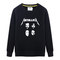 Death Metal Rock Band Metallica Mens Hoodies Sweatshirts Brand Fashion Hip Hop Streetwear Tracksuit