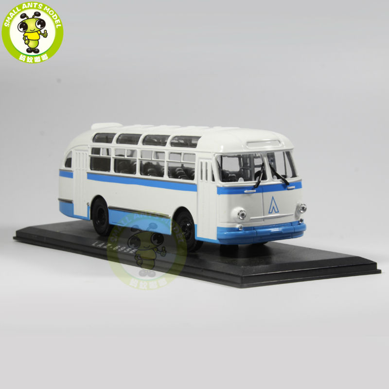 Фотография 1/43 LAZ 695E LAZ-695E Bus Model USSR Soviet Union city bus ULTRA CLASSIC BUS MODEL