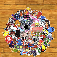 100 Pcs Mixed Stickers Graffiti Funny for KIDs Luggage Laptop Bike Car Motorcycle Phone Snowboard Doodle DIY Sticker high quality car styling sticker bomb skateboard stickers doodle graffiti snowboard bike motorcycle accessories luggage bags