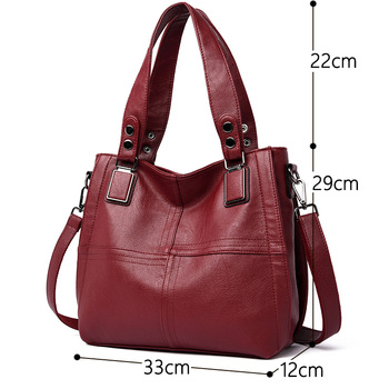 Genuine Leather Casual Shoulder Bags 1