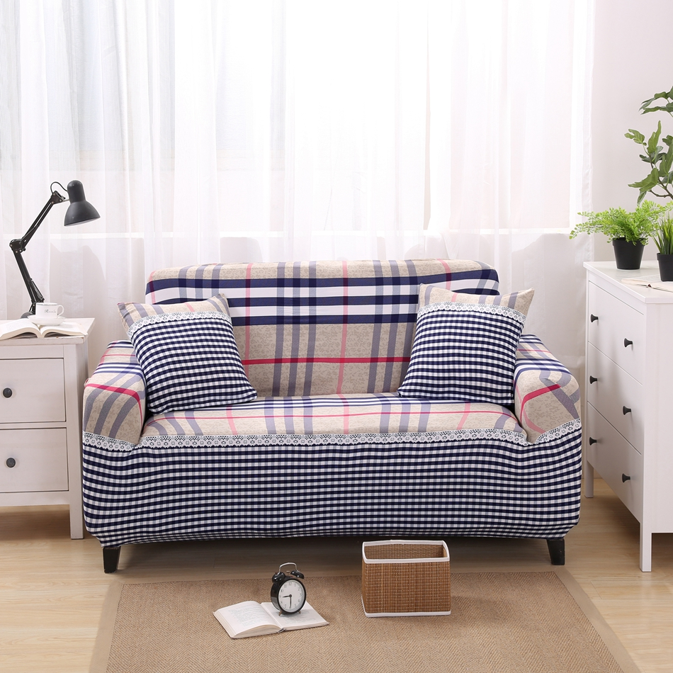Full Sofa Cover Elastic New Arrival Slip Covers L Shaped Couch Covers For  Single Double Three