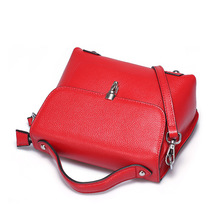 ZENCY Women Small Leather Bags Female Luxury Famous Brands Handbag Genuine Leather Tote Shoulder Messenger Bag Purse