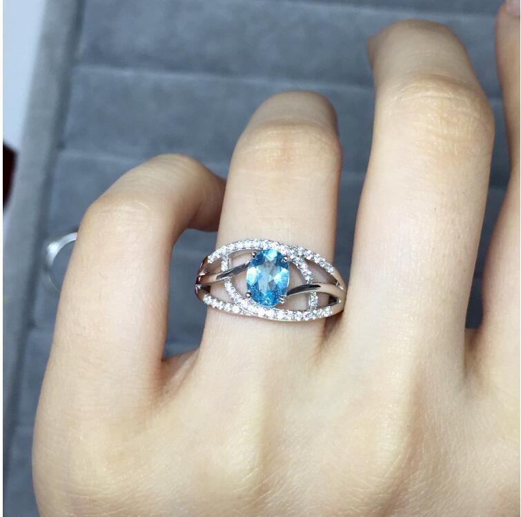 Topaz Ring gem Finger ring Natural real blue topaz 925 sterling silver ring Wholesales For men or womenTopaz Ring gem Finger ring Natural real blue topaz 925 sterling silver ring Wholesales For men or women