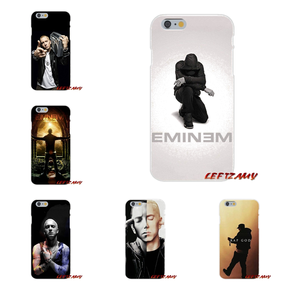 Soft Tpu Silicon Cell Phone Cases Hip Hop Rapper Eminem For Samsung Galaxy Note 2 3 4 5 8 S2 S3 S4 S5 Mini S6 S7 S8 S9 Edge Plus Half-wrapped Case