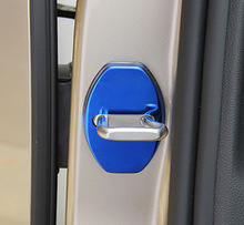 4pcs for Skoda Octavia 2015-2018 Stainless steel Door lock Protective cover decorate