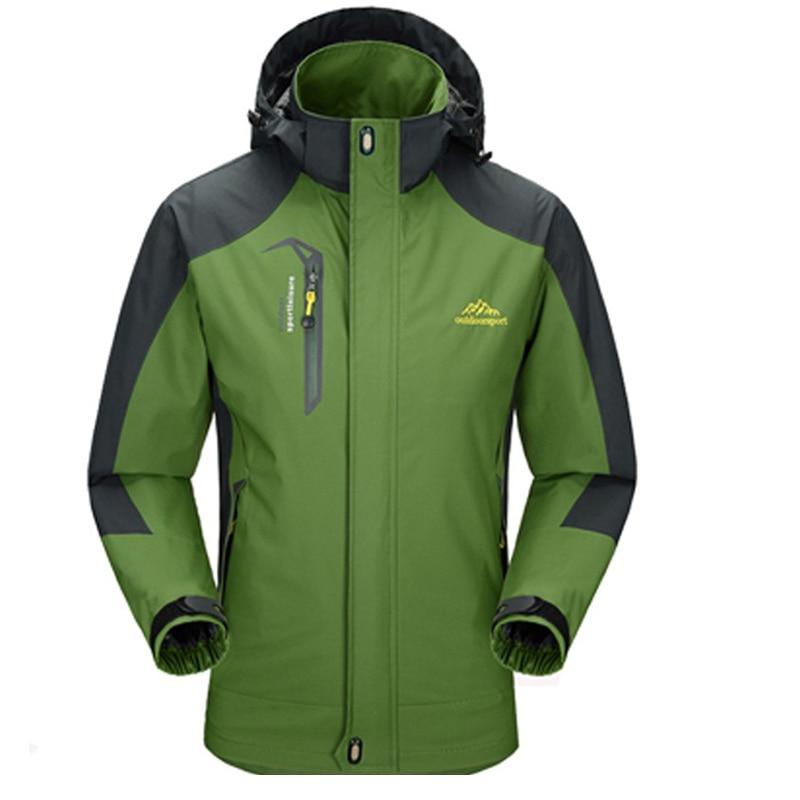 Для мужчин Куртки Водонепроницаемый Весна пальто с капюшоном Для мужчин верхняя одежда а ...