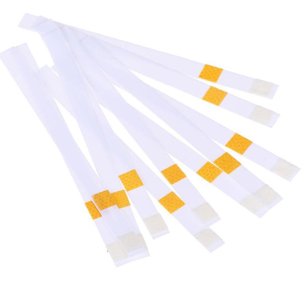 50pcs 2 in 1 Acid Water Hardness SwimmingPool Spa Chlorine Test Strip cloro piscin keto химия для бассейна таблетки для бассейна
