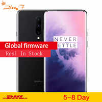 ROM globale originale Oneplus 7 PRO Smartphone 6.2 ''2340*1080 P Android 9 Snapdragon 855 6G RAM 128G ROM téléphone Mobile