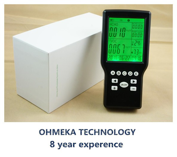 Indoor formaldehyde air quality detector TVOC air monitor with CE certificate tvoc air quality monitor indoor smart formaldehyde air quality detector