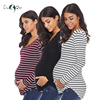 Pack of 3pcs Striped Pregnancy Tops Mama Maternity Clothes Blouse Ropa Mujer Womens Clothing Plus Size Loose Premaman Women Tops