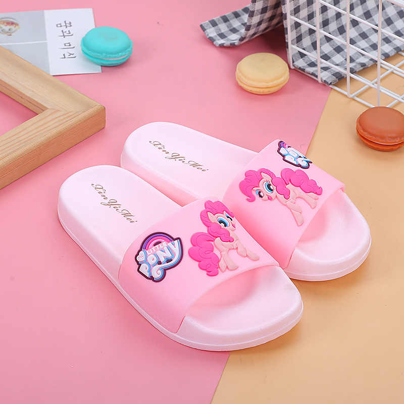 Cute Summer Girls Boys Baby slippers kids Children cartoon Toddler Kids slippers Home Bathroom beach Kids Flip Flops
