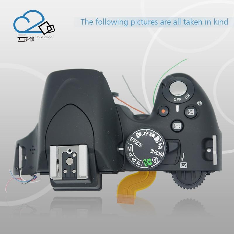Free Shipping 98 New Original Top Cover For Nikon D5100 D5200 Camera Repair Parts