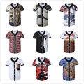 NEW 3D print Baseball T-shirt Jersey Hip Hop t shirt Men&Women Couples Black white T-shirts Tees Plus size M-XXXL