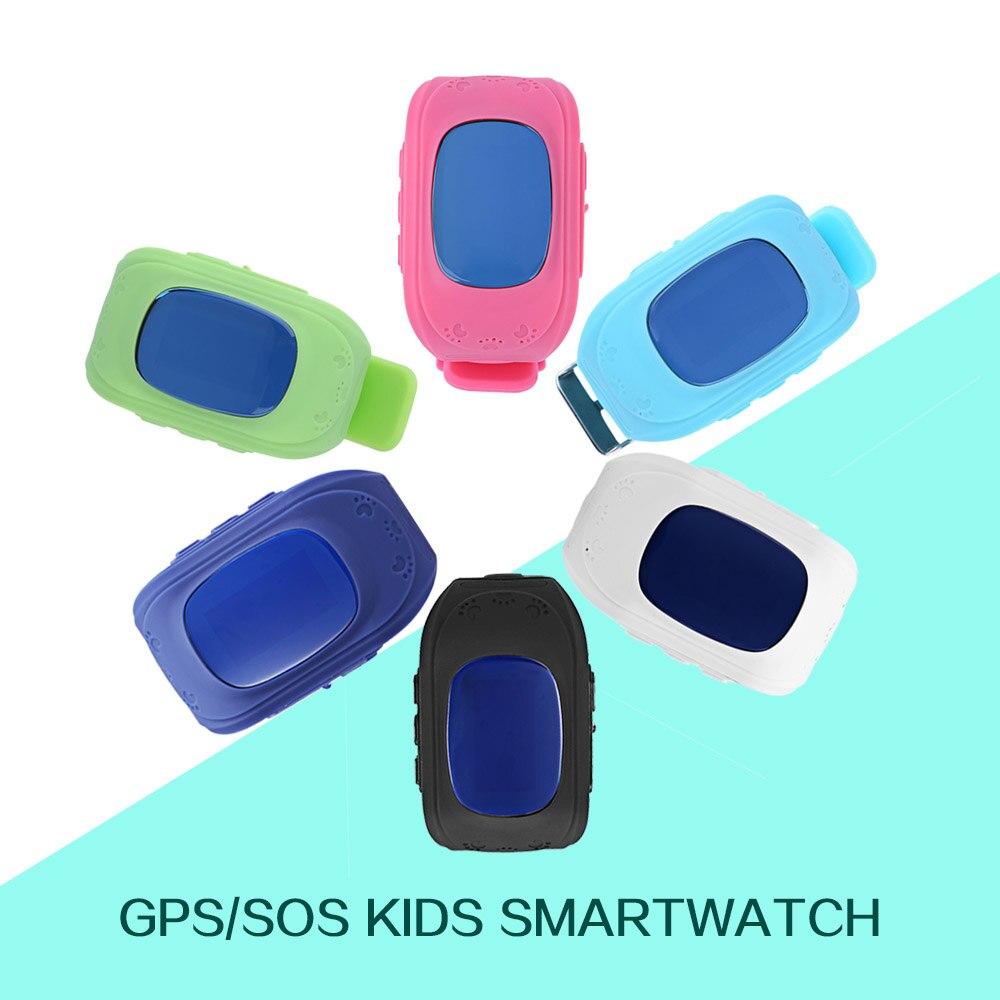 Smart Phone Watch Children Kid Wristwatch G36 Q50 GSM GPRS GPS Locator Tracker A