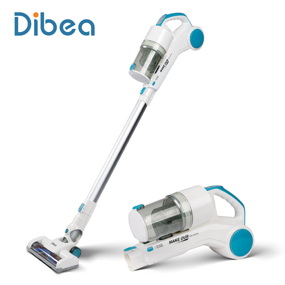 dibea st1601 new handy cordless vacuum cleaner with cyclonic technology light weight 2 in 1. Black Bedroom Furniture Sets. Home Design Ideas