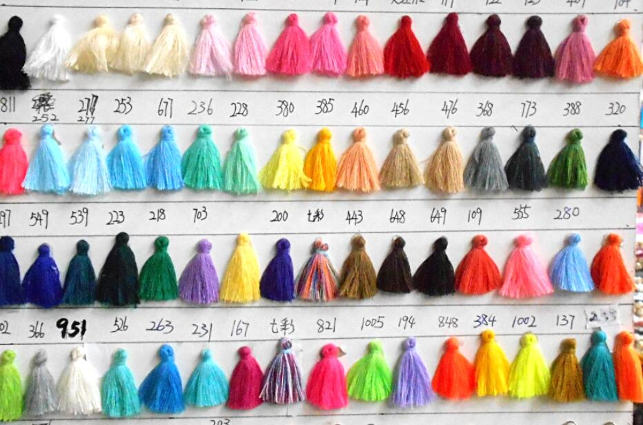 jewelry findings/27-30MM cotton tassel for Hand made jewelry/jewelry making/tassels for jewelry diy/50pcs/lot