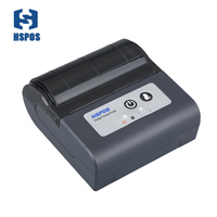 3 Inch Portable Bluetooth Printer With Battery Impressora Termica 80mm Support Windows Linux Android Ios Used