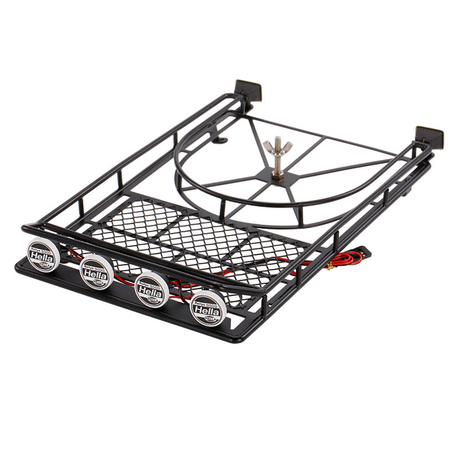 austar ax518sr metal roof luggage rack with spare tire