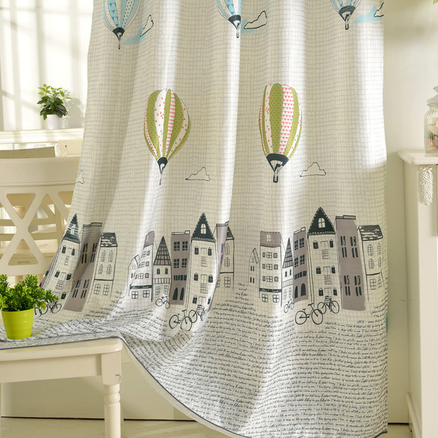 Stylish Kids' Room Curtain